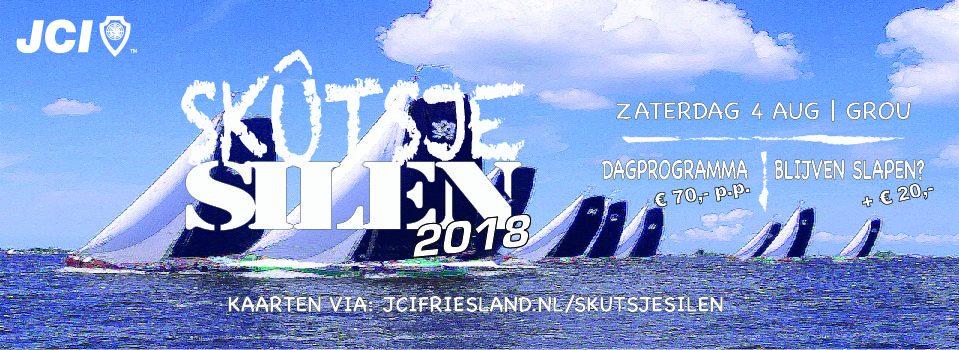 Met JCI Friesland naar het skûtsjesilen in Grou in 2018
