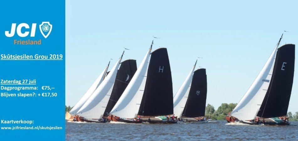 Met JCI Friesland naar het Skutsjesilen